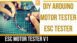 DIY ESC Tester // Motor Tester // #HOWTO #DIY #ARDUINO #PROJECT