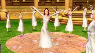 Barbie in The 12 Dancing Princesses - First dance in the golden pavilion