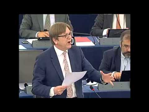 Guy Verhofstadt On Current Situation In Cyprus