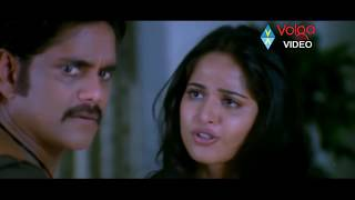 Nagarjuna And Anushka Romantic Scenes - Volga Videos