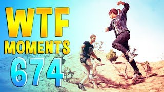 PUBG WTF Funny Daily Moments Highlights Ep 674