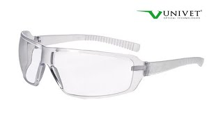 Video gafas de proteccion Univet 553 ZERONOISE