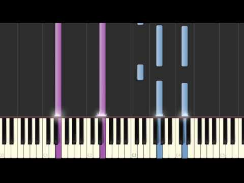 Lea Michele Battlefield piano tutorial ( midi, sheet music)