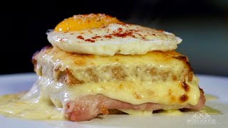 Croque Monsieur vs Croque Madame – Bruno Albouze – THE REAL DEAL