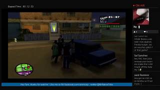 GTA San Andreas[Hot Coffee] w/PacLives PS4 LIVESTREAM