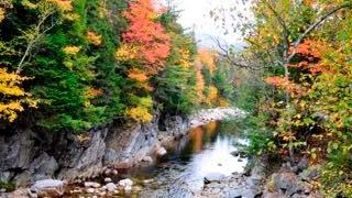 New Hampshire.  Fall foliage (4K) - 2014