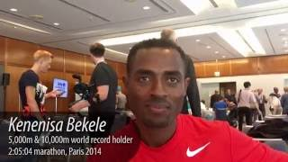 2016 Berlin Marathon: Kenenisa Bekele on the Oromo protests
