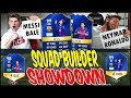 99 TOTS MESSI vs 98 TOTS NEYMAR SQUAD BUILDER SHOWDOWN! ⚽