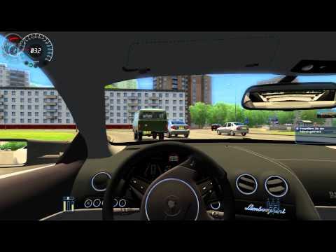 #002 Let's Play City Car Driving [Deutsch] [Full-HD] - Lamborghini Reventon