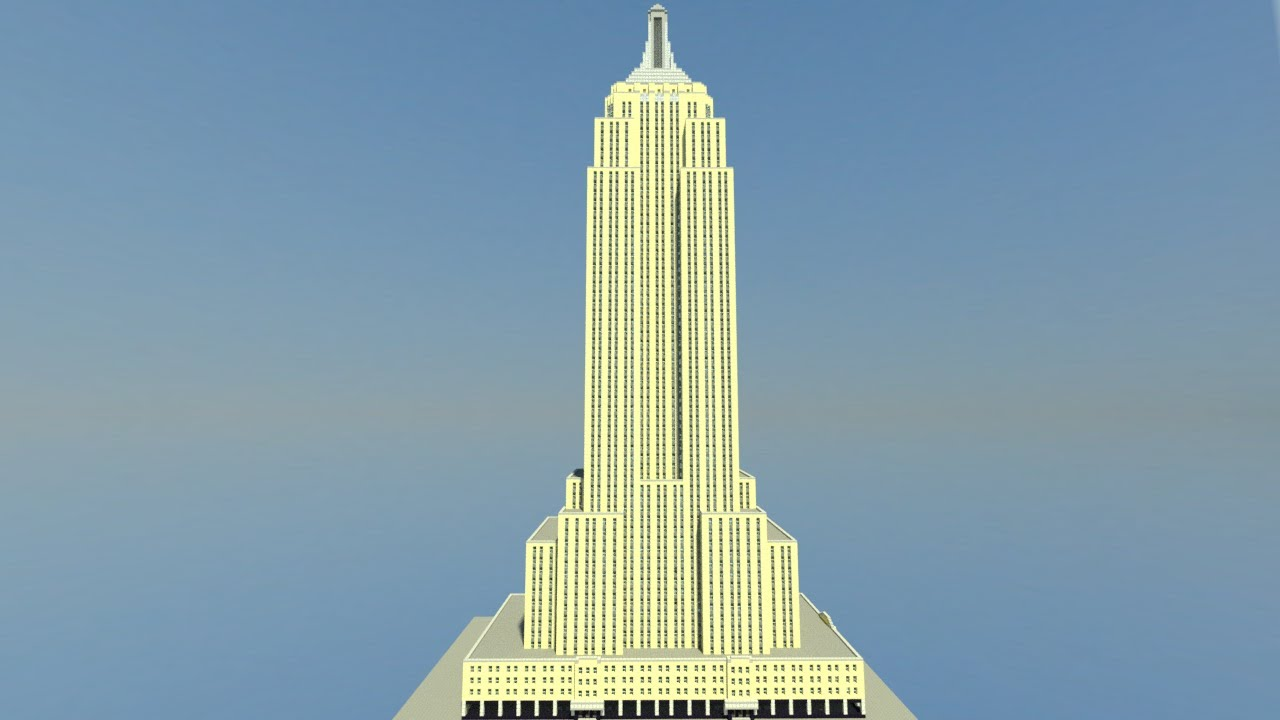Empire State Building Minecraft Map