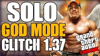 "GTA 5 ONLINE|""NEW God Mode and Of The Radar Glitch After Patch""Glitch""NEW UNLIMITED HEALTH GLITCH"""