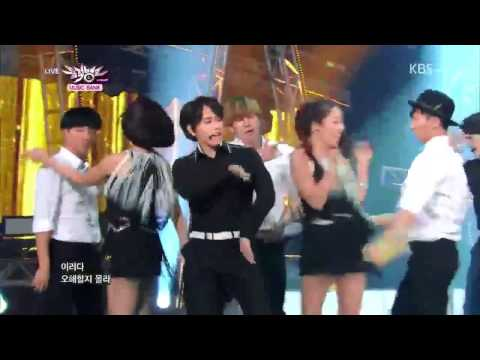 [HD] 140829 Super Junior -MAMACITA @ Music Bank (Comeback Stage)