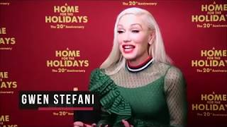 Gwen Stefani On Performing On A Home For The Holidays