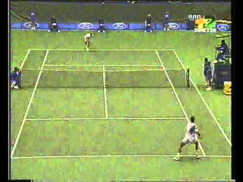 Pete Sampras great shots selection against Todd Martin (Australian Open 1994 FINAL)
