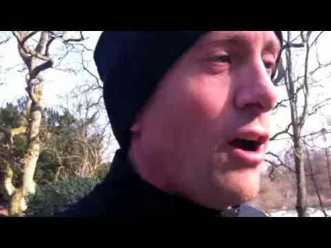 Yannick Tregaro tränar inför Ljusruset 2011.