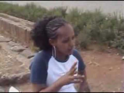Ethiopian Girl In Addis Ababa Hustling video