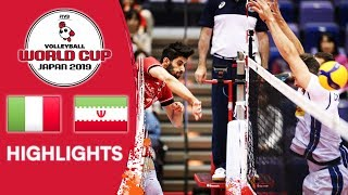 ITALY vs. IRAN - Highlights | Men's Volleyball World Cup 2019