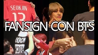 CONOCÍ A BTS!! - FANSIGN EXPERIENCE