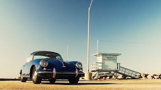 Guy Newmark and his Porsche 356. Congratulations for reaching 1M miles!
