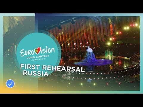 Julia Samoylova - I Won't Break - First Rehearsal - Russia - Eurovision 2018