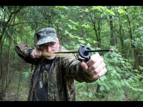Рогатка для охоты как сделать