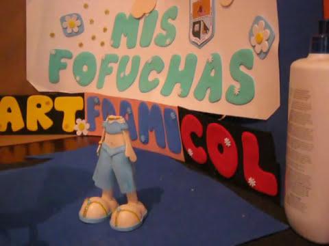 Princesas Disney Muñecas 3d Fofuchas foami Goma eva Paso A paso Artfoamicol