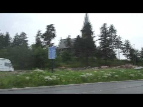Approaching Holmenkollen Chapel (Once Burnt Down By Varg Vikernes)