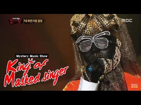 [King of masked singer] 복면가왕 -  CBR  Cleopatra - The more I love 클레오파트라의 방어전 무대! '사랑할수록' 20150705
