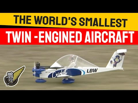Cri Cri - World s Smallest Twin Engine Aircraft