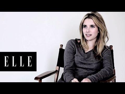 Behind the Shoot: Emma Roberts - ELLE Magazine April 2011