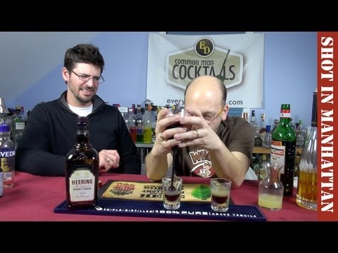 Shot in Manhattan Cocktail Shooter, How-To