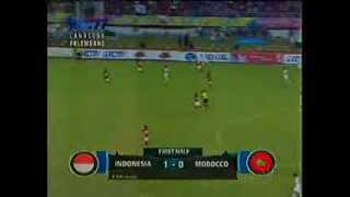 Final ISG 2013 Indonesia Vs Maroko (1-2) Full Video Babak 1/Half Time 29/9/2013