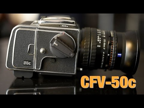 Hasselblad CFV-50c - Testing. Review. Dynamic Range & ISO