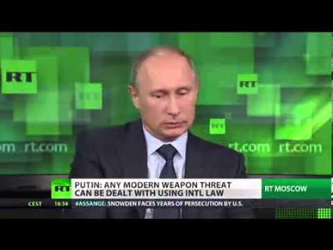 PUTIN OF RUSSIA ASKS US ALL WHY OBAMA is SECRETLY SPYING ON ALL US PATRIOTS - 1