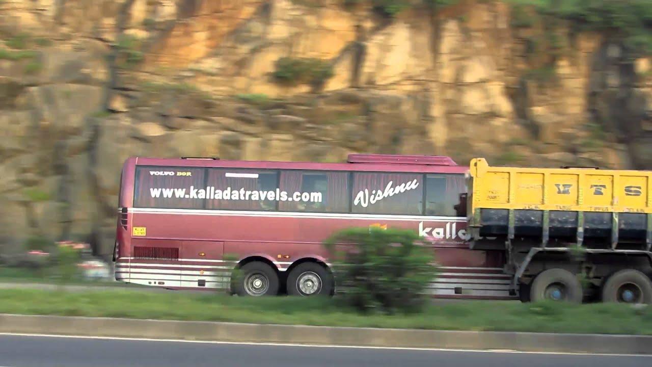 Kallada multi axle Volvo bus - YouTube
