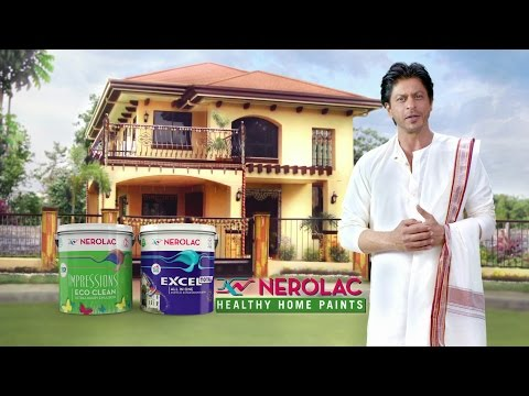 Nerolac Paints - New TV AD in Bengali for Durga Puja 2015 with SRK