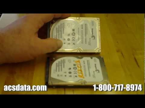 Data Recovery - Video Project 1 - Seagate Hard Drive