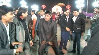 Funny Dancing steps by Akhilesh Yadav from Etawah UP at a marriage in Gwalior