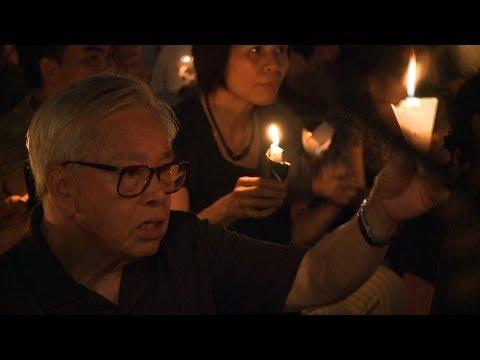 Hong Kong Marks Tiananmen 25th Anniversary