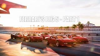 FERRARI'S BIG 5: 288 GTO vs F40 vs F50 vs Enzo vs LaFerrari - PART 1