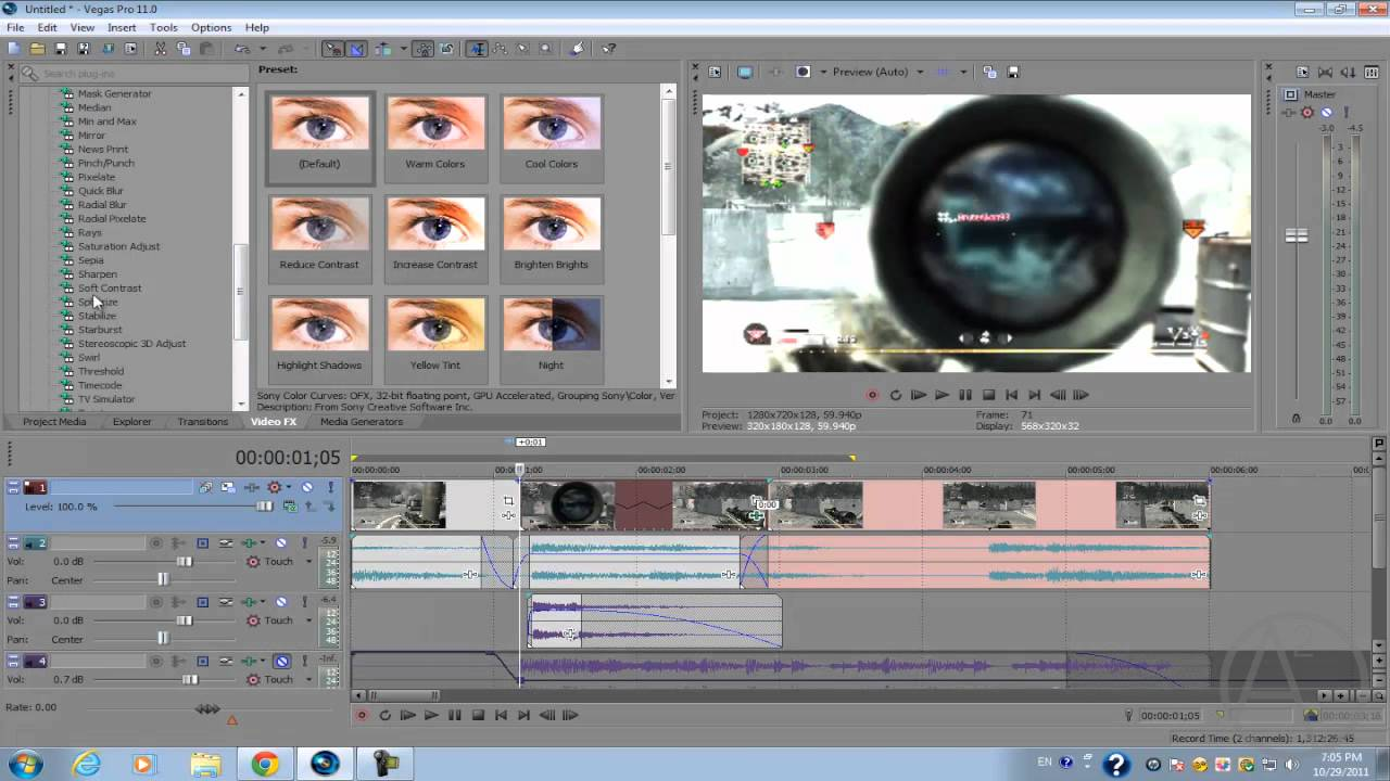 Sony vegas pro 11 call of duty montage burst effect youtube for Sony vegas effects download