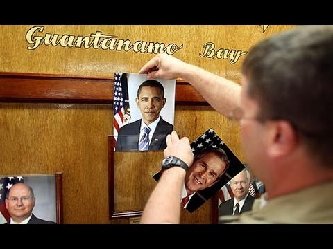 Obama vows to close Guantánamo Bay