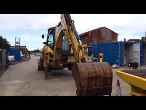 CAT 432E backhoe loader