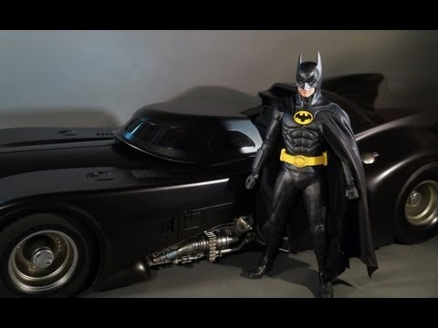 Batman 1989 Batmobile Toy Hot Toys MMS Batmobile