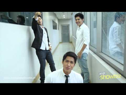 Inside Showbiz magazine's Hottest Men of 2012 sing