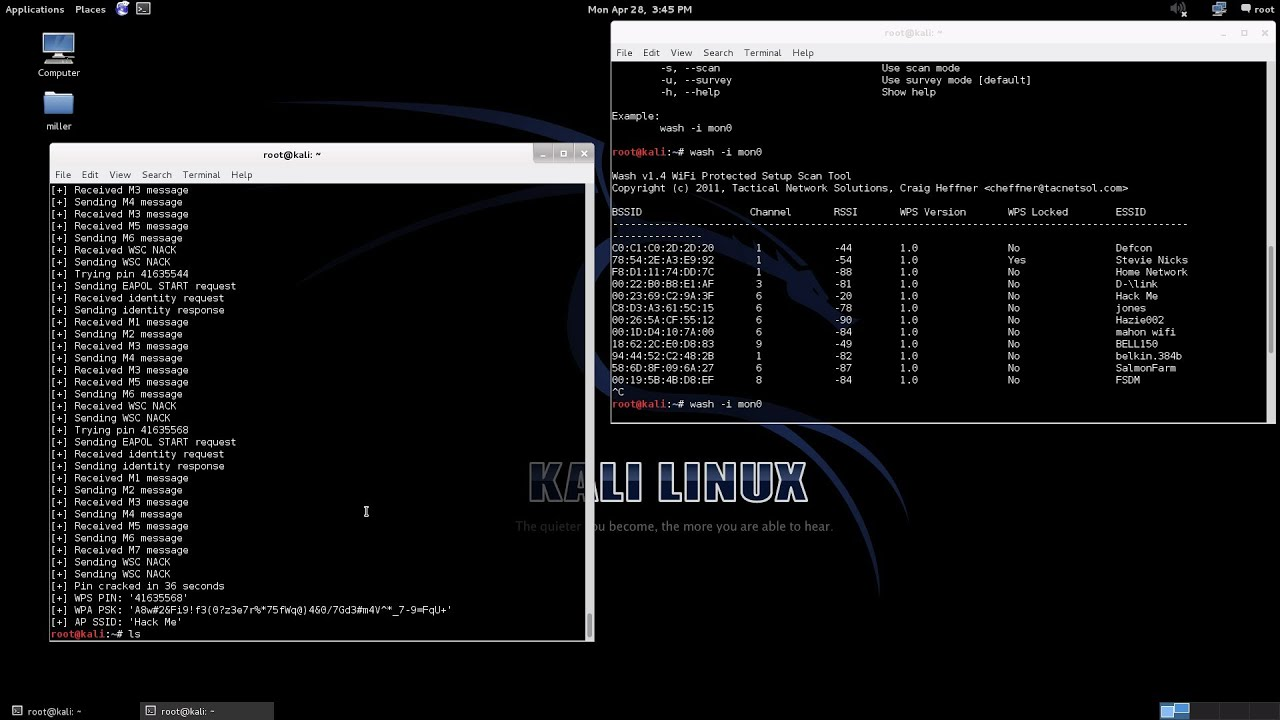 kali linux wpa2 hack without dictionary