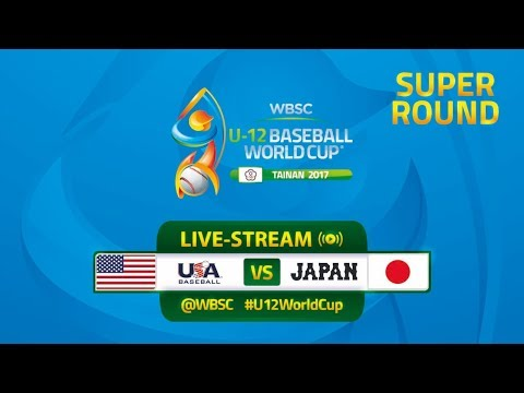 Japan v USA - Super Round - WBSC U-12 Baseball World Cup 2017