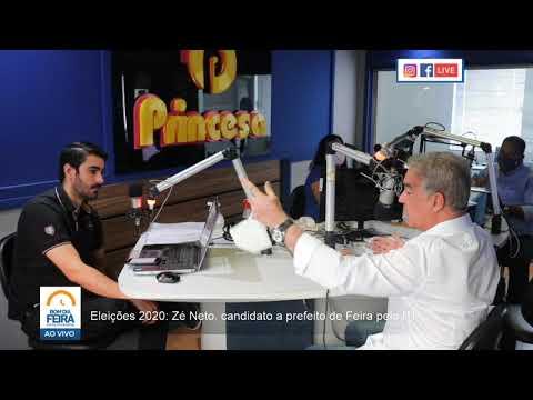Eleições 2020: Zé Neto, candidato a prefeito de Feira pelo PT