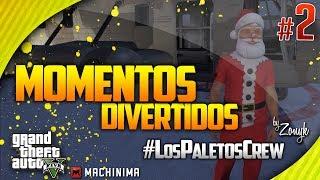 GTA 5 Online: ¡Feliz Navidad A Todos! - Momentos Divertidos #2 W/LosPaletosCrew (Funny Moments)