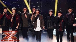 Stereo Kicks sing Snow Patrol/Leona Lewis' Run   Live Week 8   The X Factor UK 2014